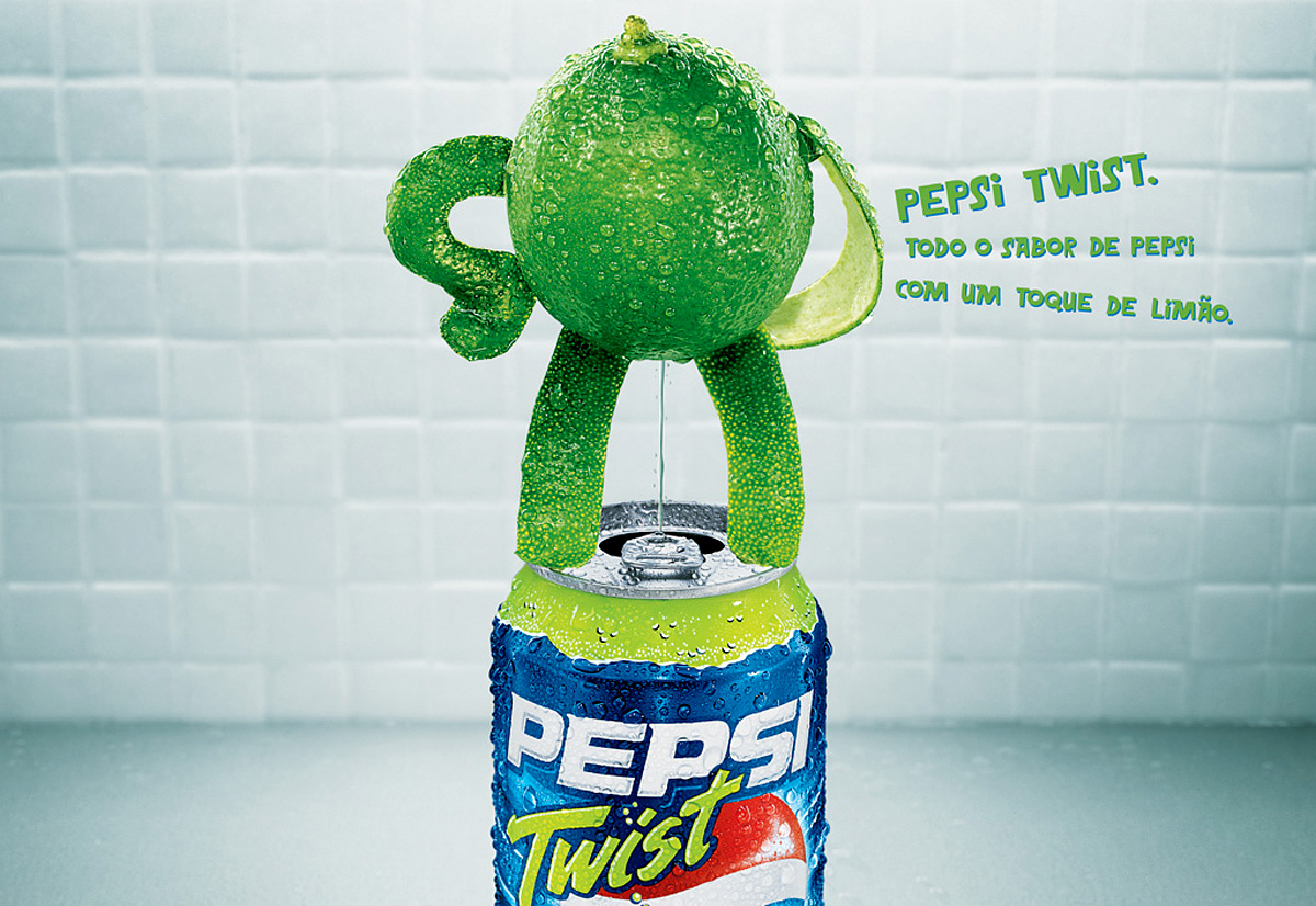 Pepsi Lemon Twist