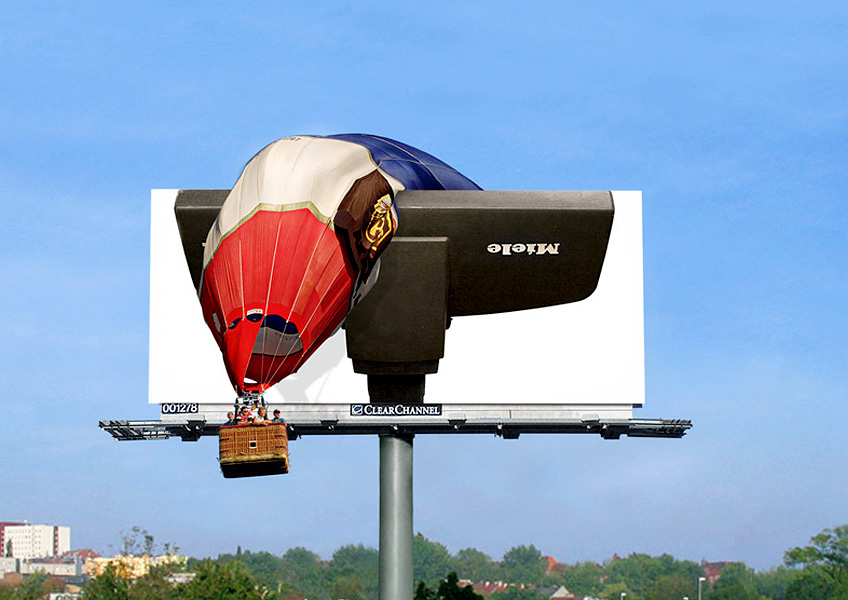 Miele Hot Air Balloon