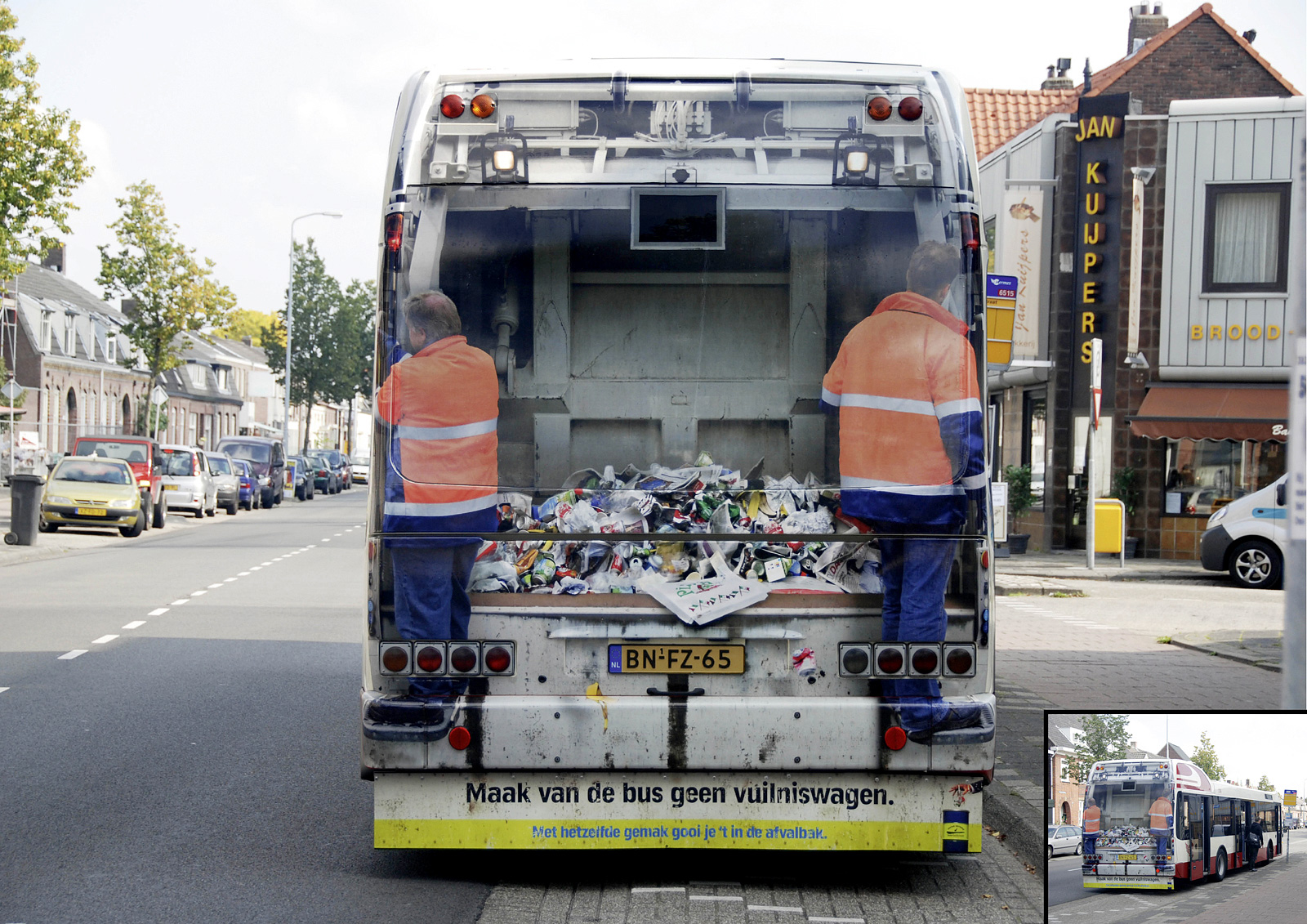 Garbage Truck Bus