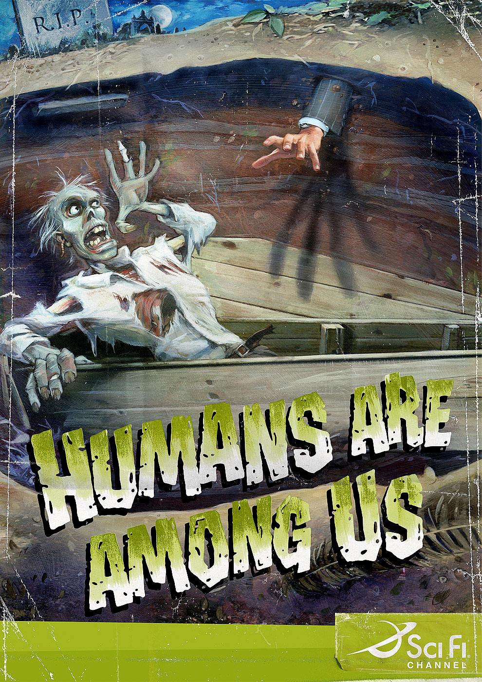 Humans are Among Us Sci Fi