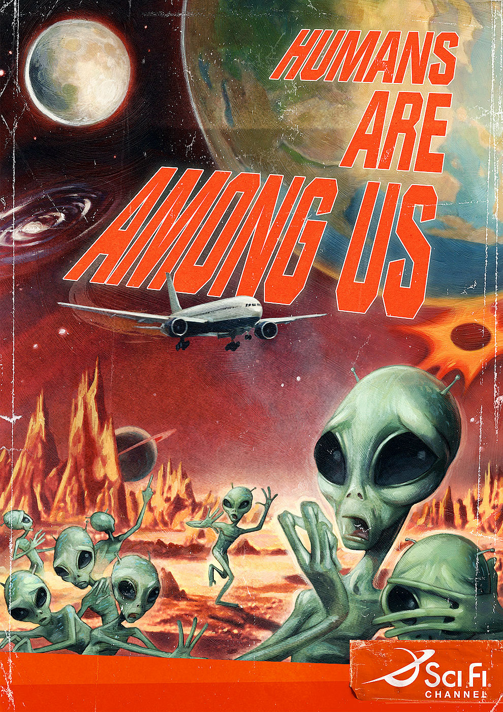 Humans are Among Us Sci Fi Channel