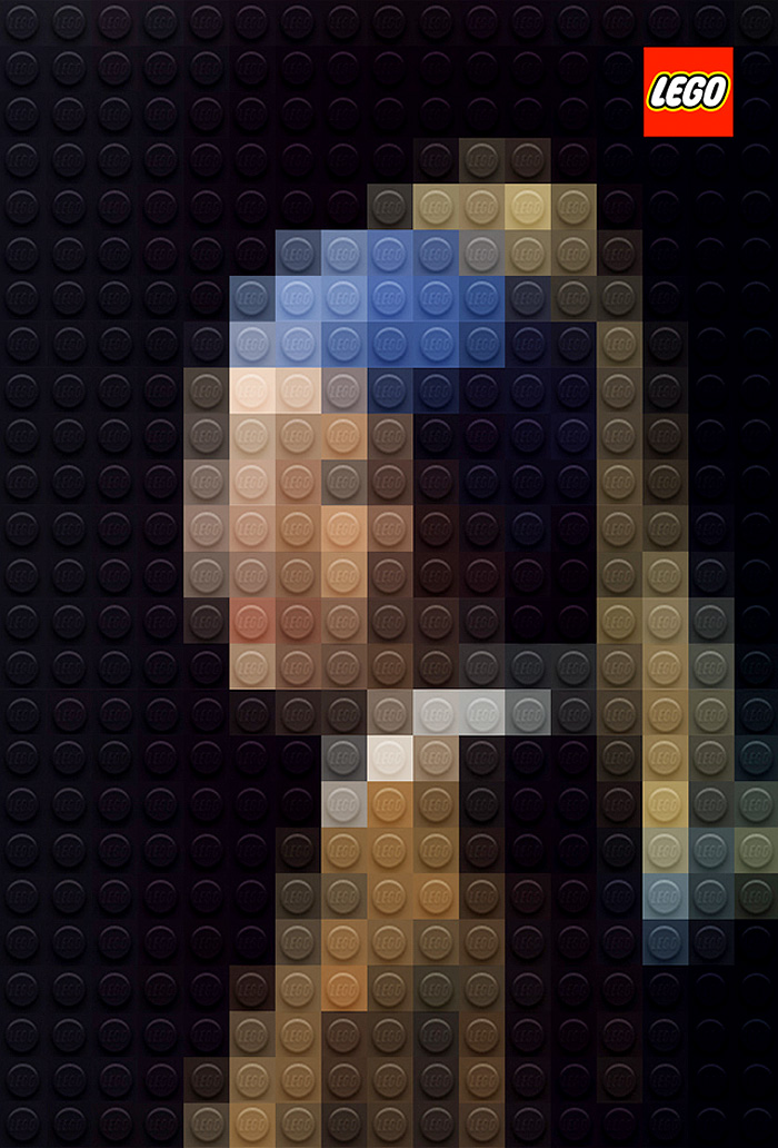 LEGO Girl with a Pearl Earring