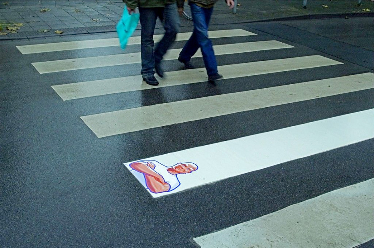 Mr Clean Crosswalk