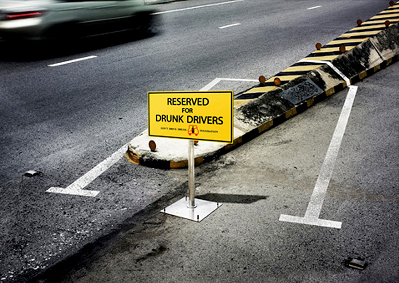 Parking Space for Drunk Drivers