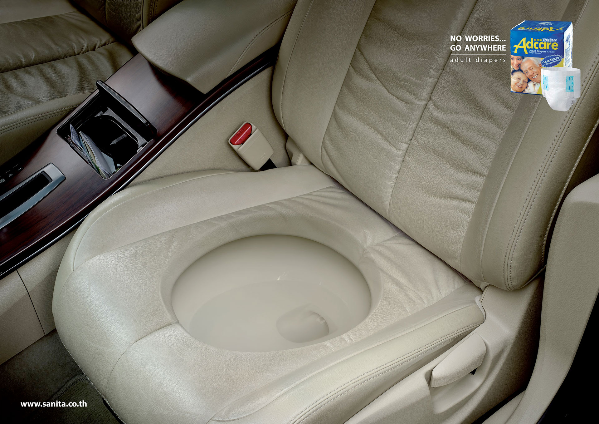 Adcare Car Toilet