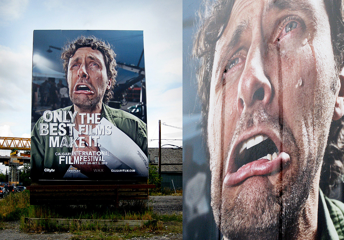 Crying Billboard