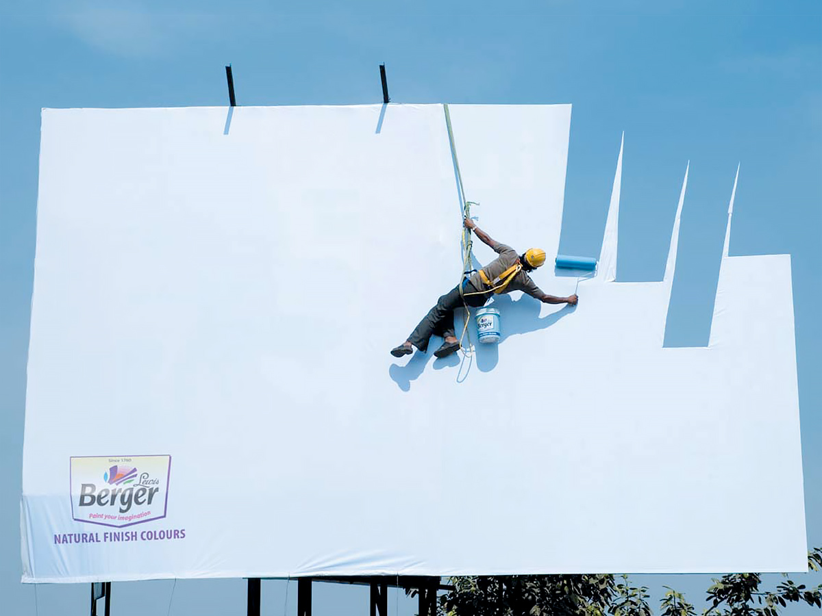 Berger Sky Billboard