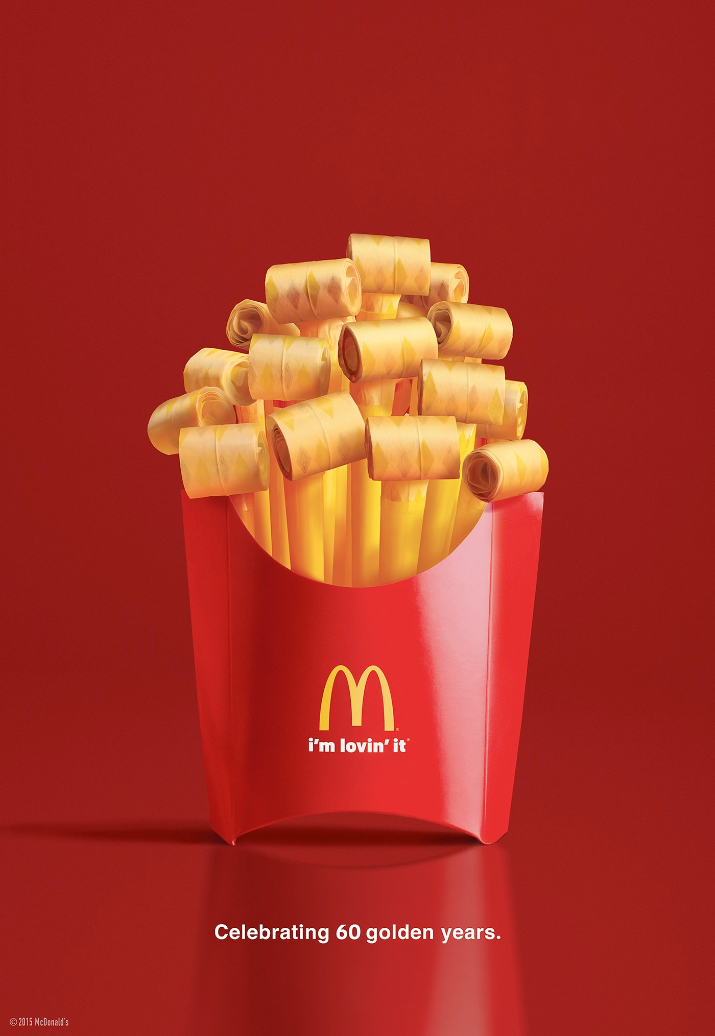 McDonalds Party Fries