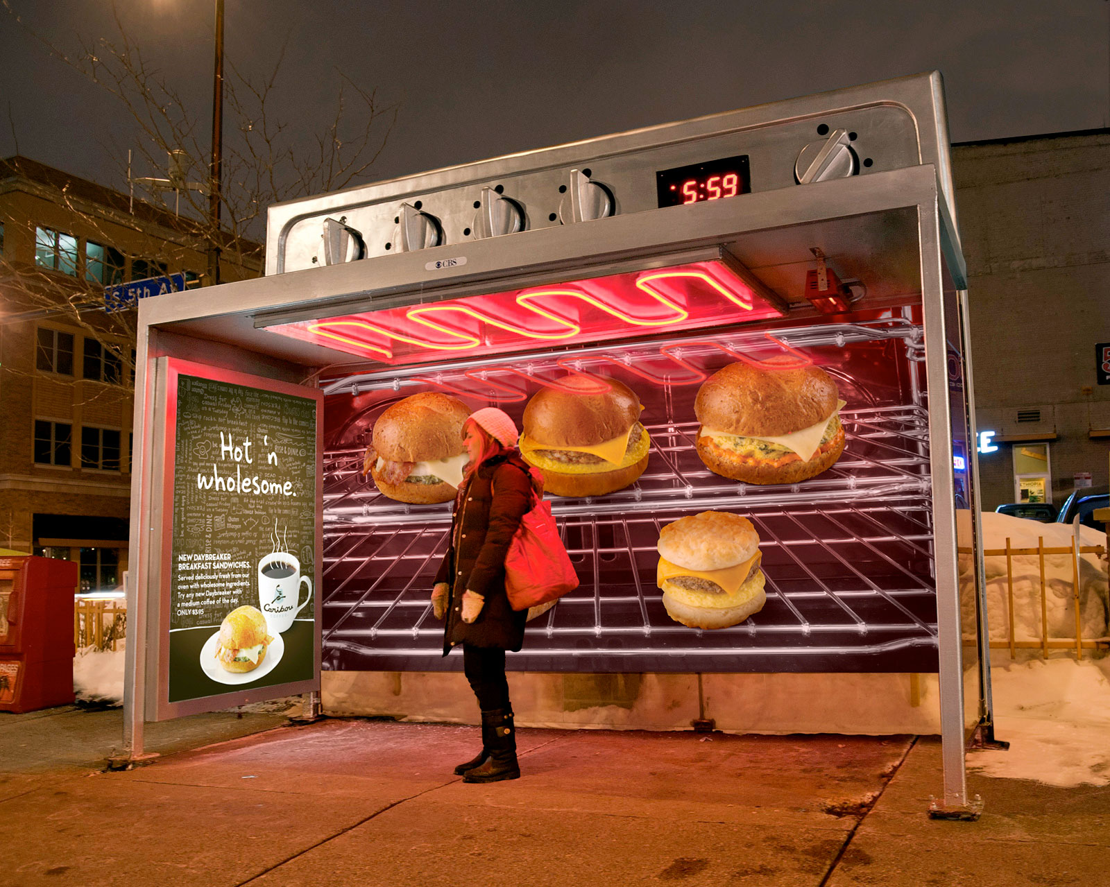 Oven Bus Stop