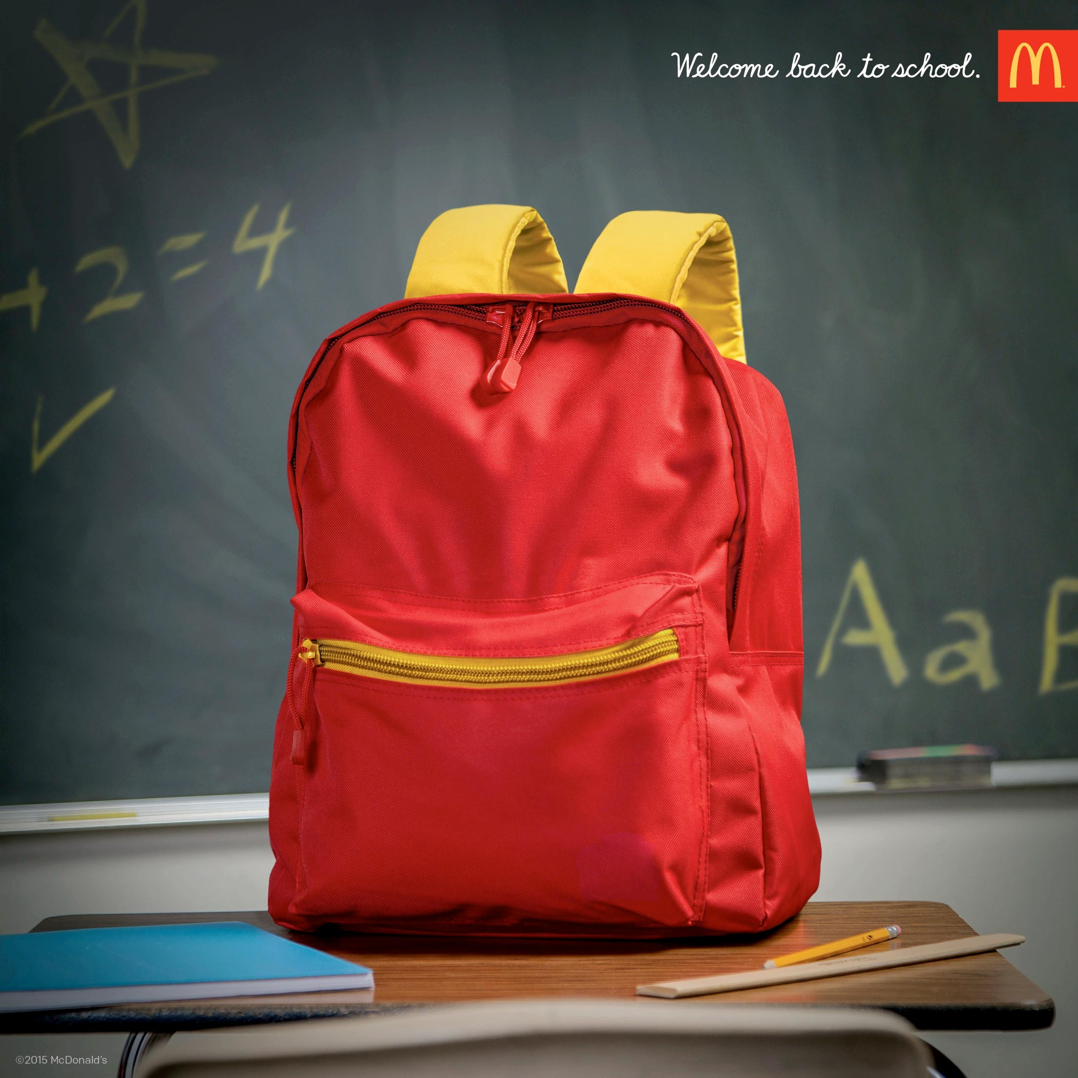 McDonald's Welcome Back to School