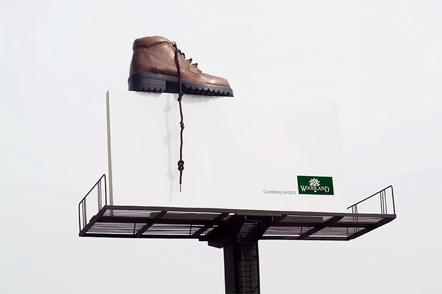 Climbing Shoes Billboard