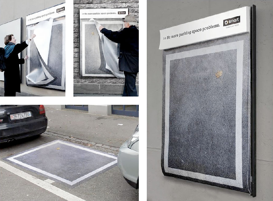 Tear-Off Parking Space