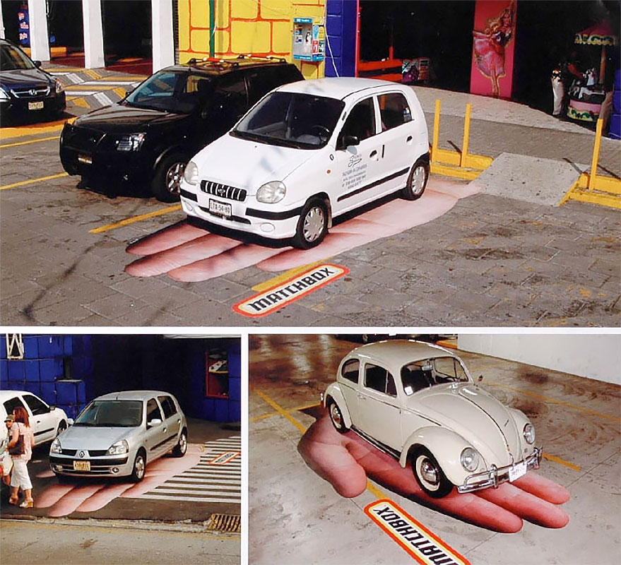 Matchbox Toy Car Parking