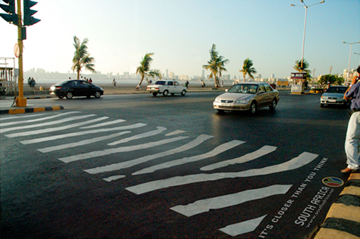 Zebra Crosswalk