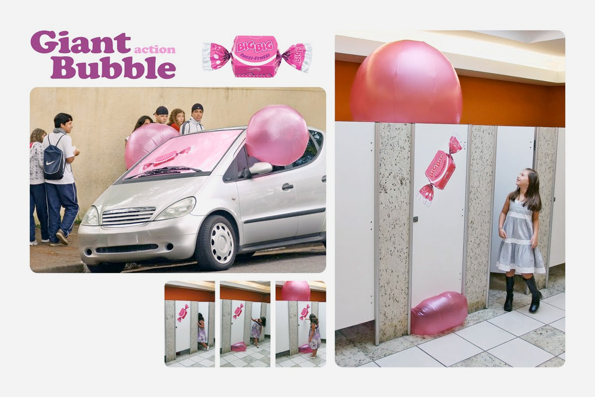 Bubble Gum Car