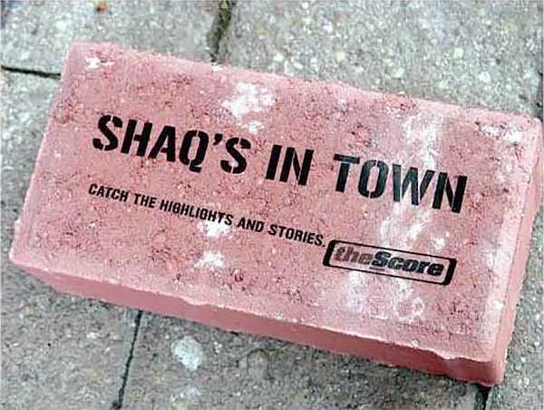 Shaqs in Town Brick